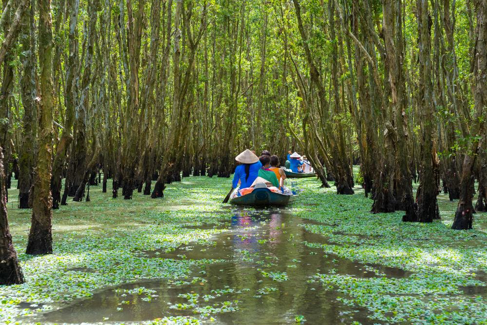 The Mekong Delta in Vietnam