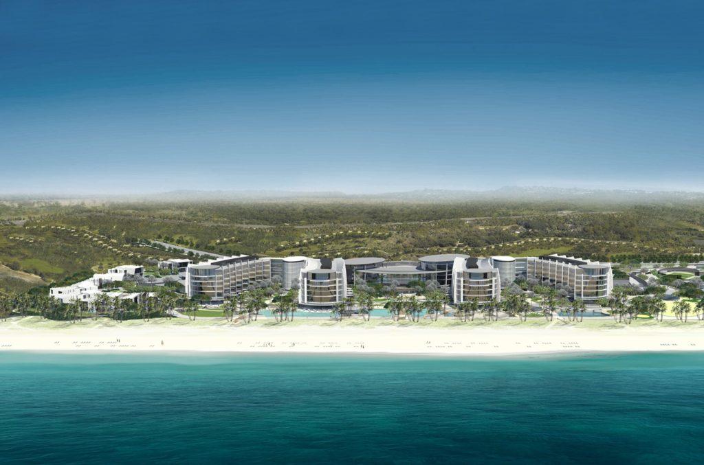 Beach view - Jumeirah at Saadiyat Island Resort