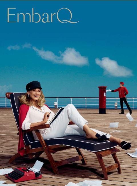 Αποτέλεσμα εικόνας για EmbarQ trade publication launched by Cunard to travel agents