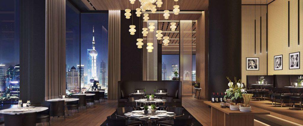 Il Ristorante – Niko Romito, on the 47th floor of The Bvlgari Hotel Shanghai