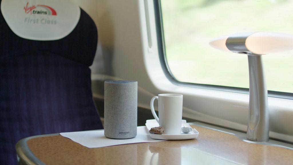 Virgin Trains Alexa