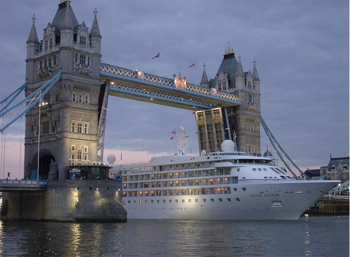 Silversea Cruises in London