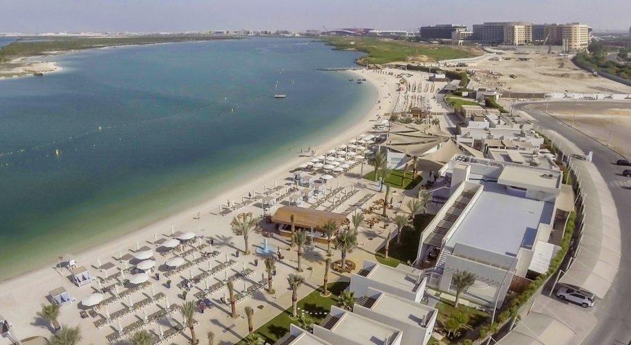 Yas Island Beach, UAE
