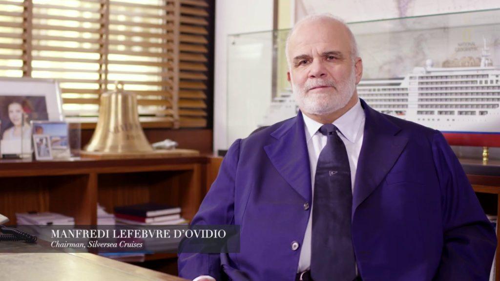 Manfredi Lefebvre, Silversea Cruises