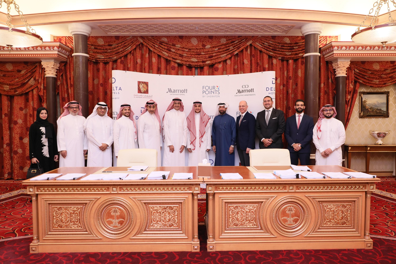 The Signing Ceremony between Al Murjan Group and Marriott International