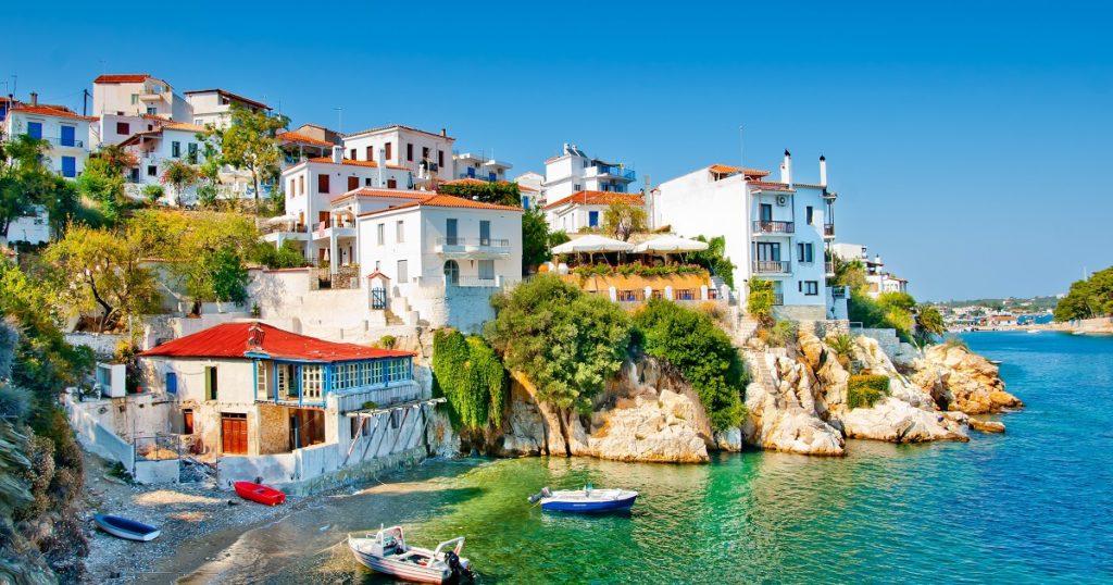 Skiathos. Greece