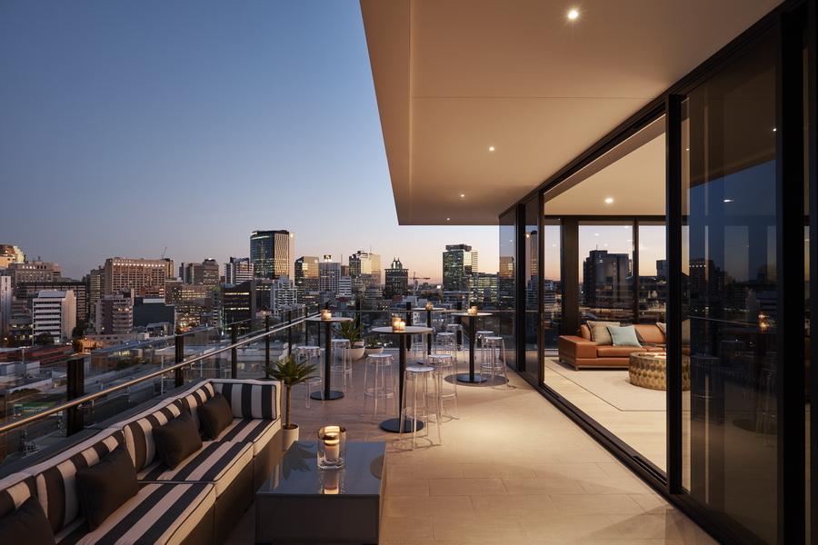 The Johnson, Penthouse
