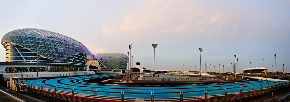The Yas Marina Formula 1 Grand Prix Circuit