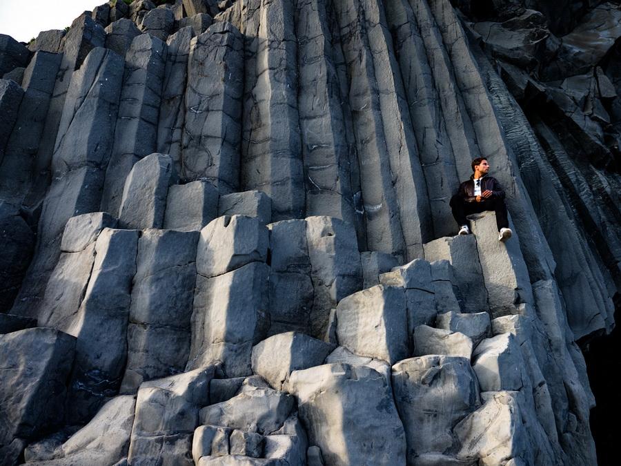 reynisfjara basalt by Mark Hoe