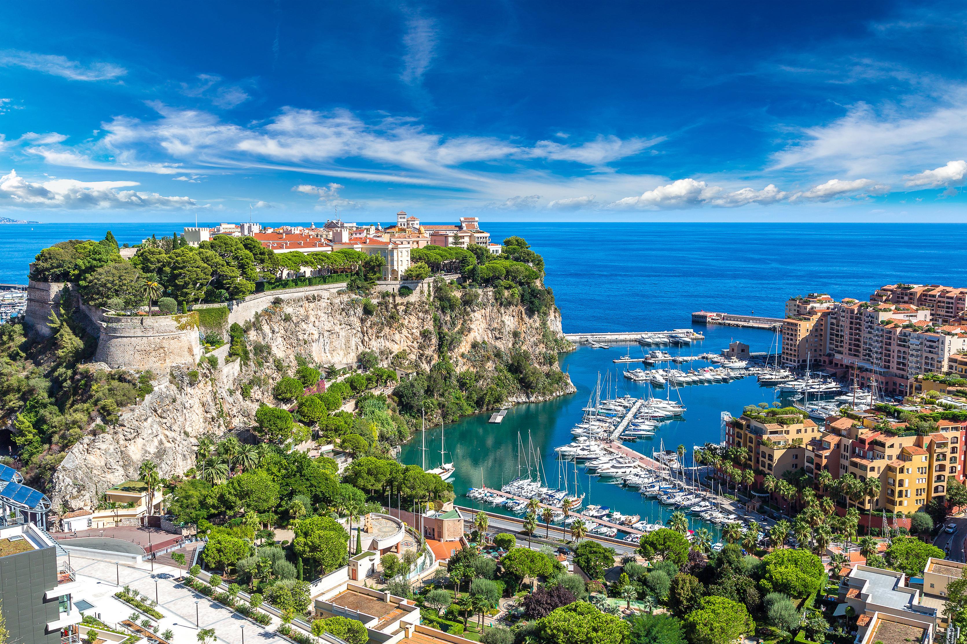 Monte Carlo in a summer day, Monaco