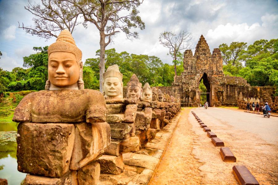 Angkor Thom. Siem Reap