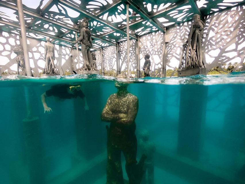 World S First Coralarium Underwater Art Installation