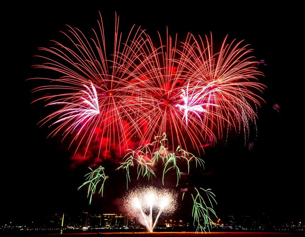 Eid Al Adha Fireworks - Yas Island