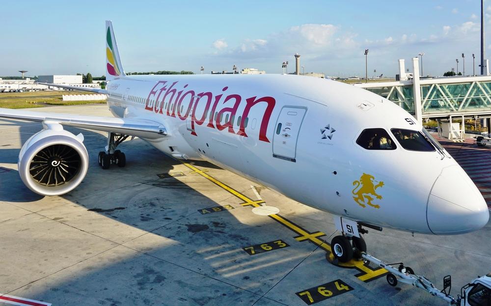 The Abebe Bikila Boeing 787 Dreamliner