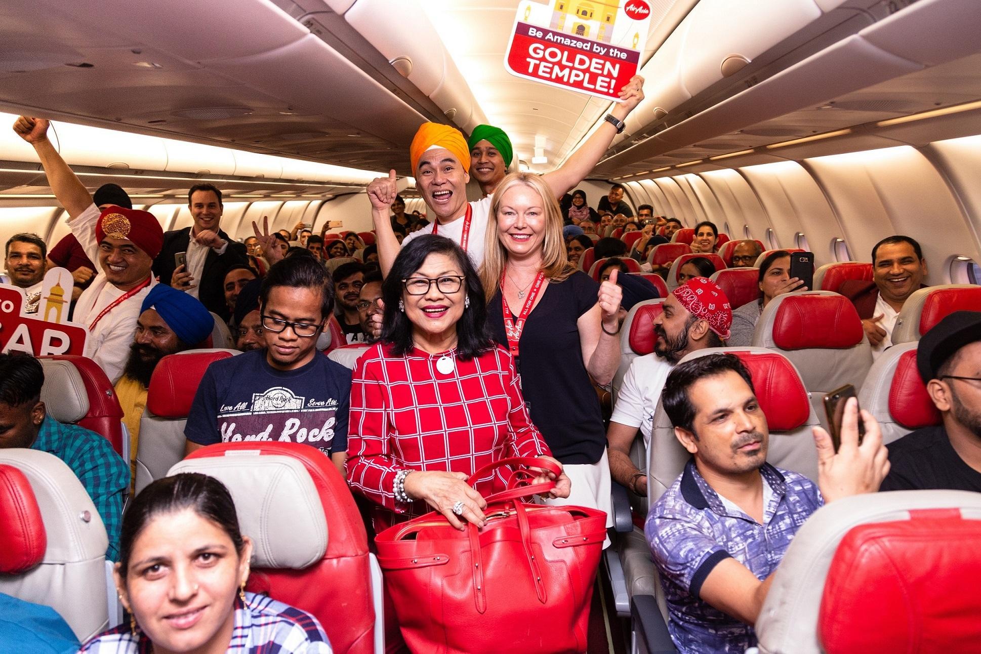 AirAsia - Inaugural flight to Amritsar