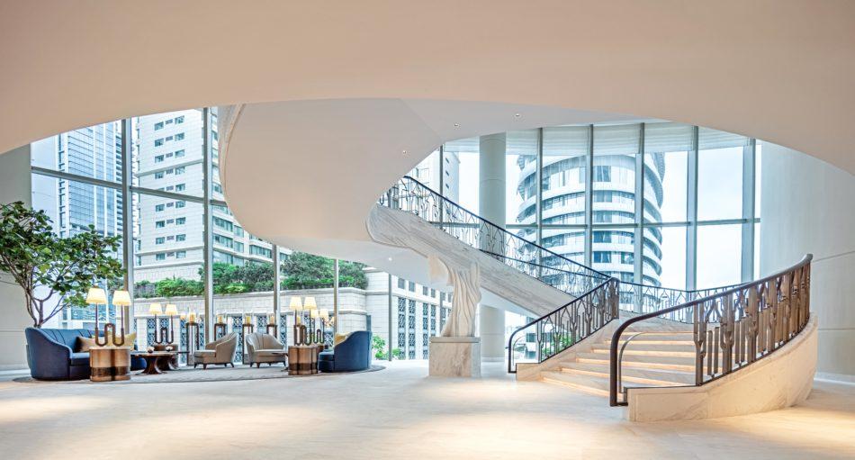 Waldorf Astoria Bangkok lobby