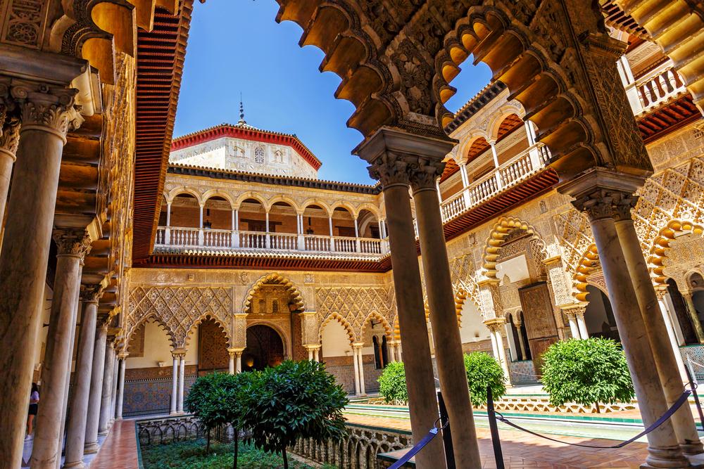 Palace of Alcazar, Seville, Spain - Cosmos