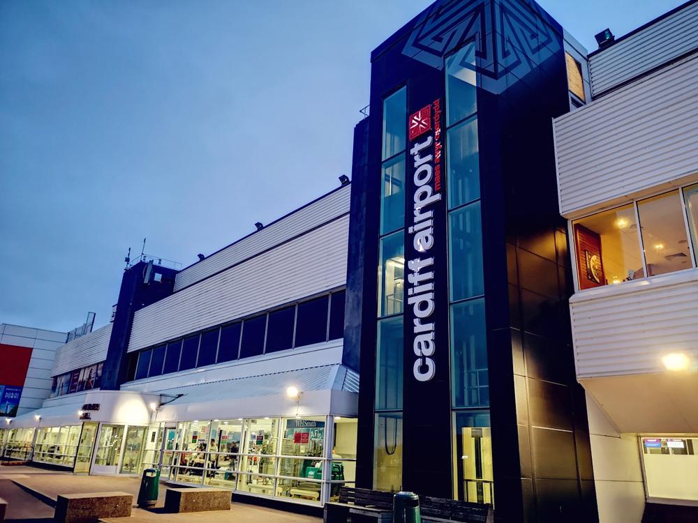 Cardiff Airport, UK