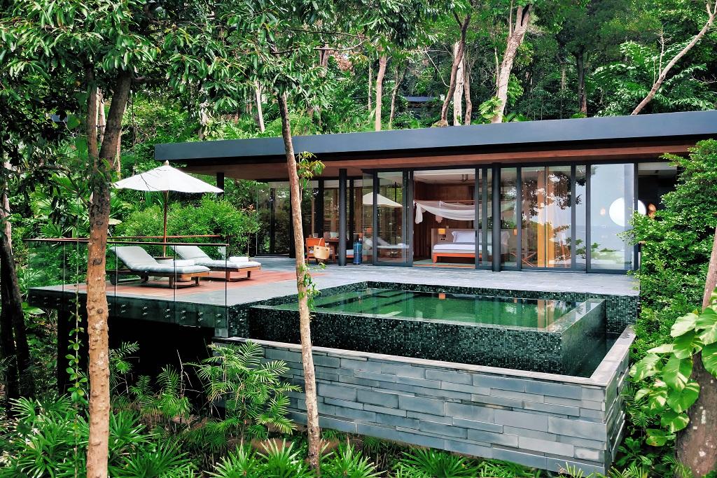 Ocean Pool Villa Suite - Krabey Island