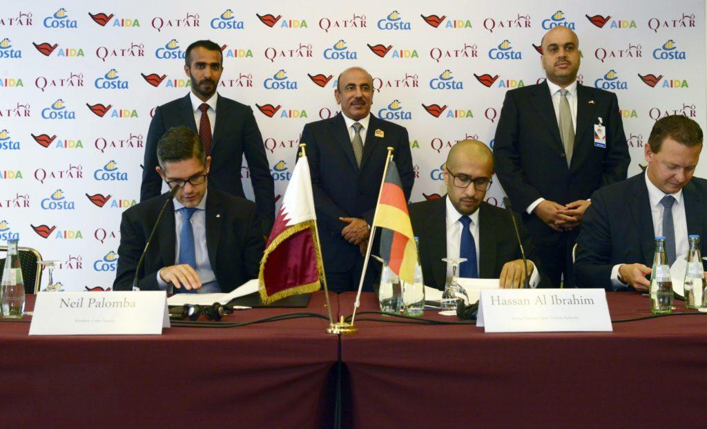 Qatar Tourism Authority, AIDA & Costa Cruises aim to make country a