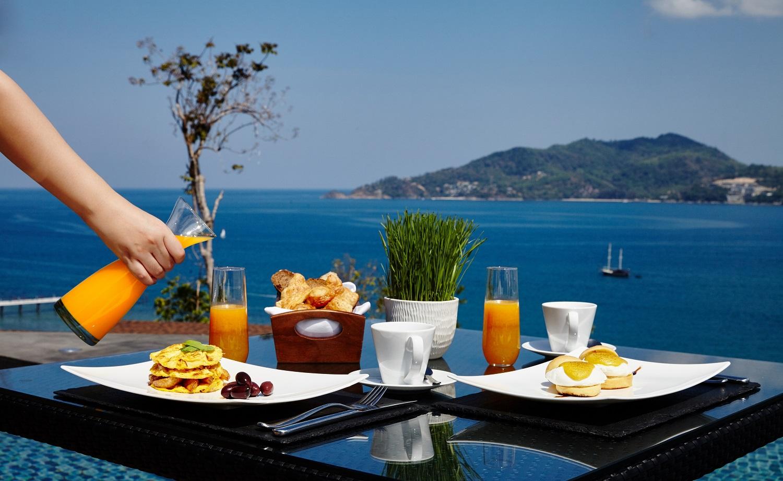 Breakfast at Ocean Wing - Amari Phuket