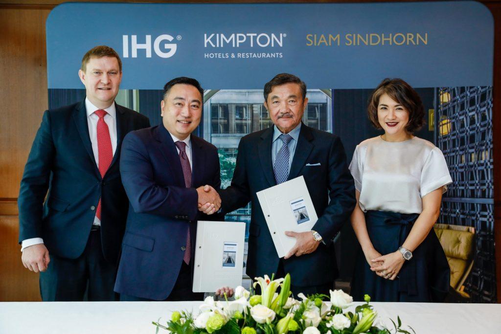 Kimpton Hotels - Signing