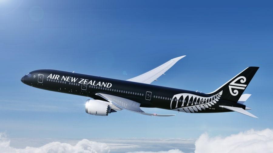 ANZ Boeing 787-9 Dreamliner aircraft