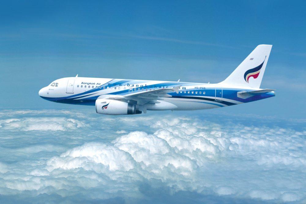 Airbus-A319 Bangkok Air livery