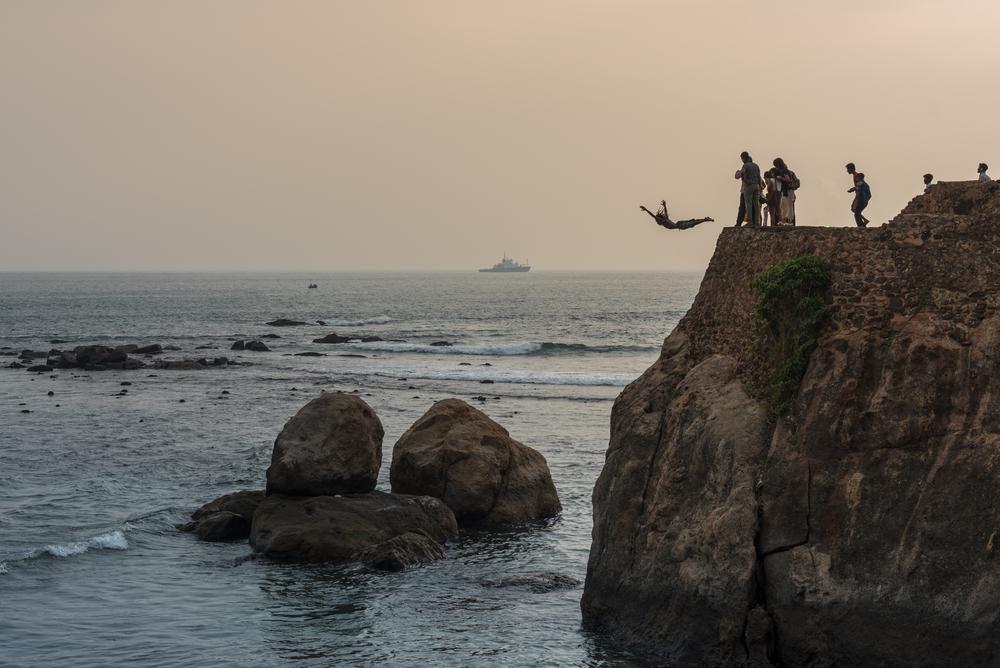 Amari Galle Sri Lanka - Flag Rock