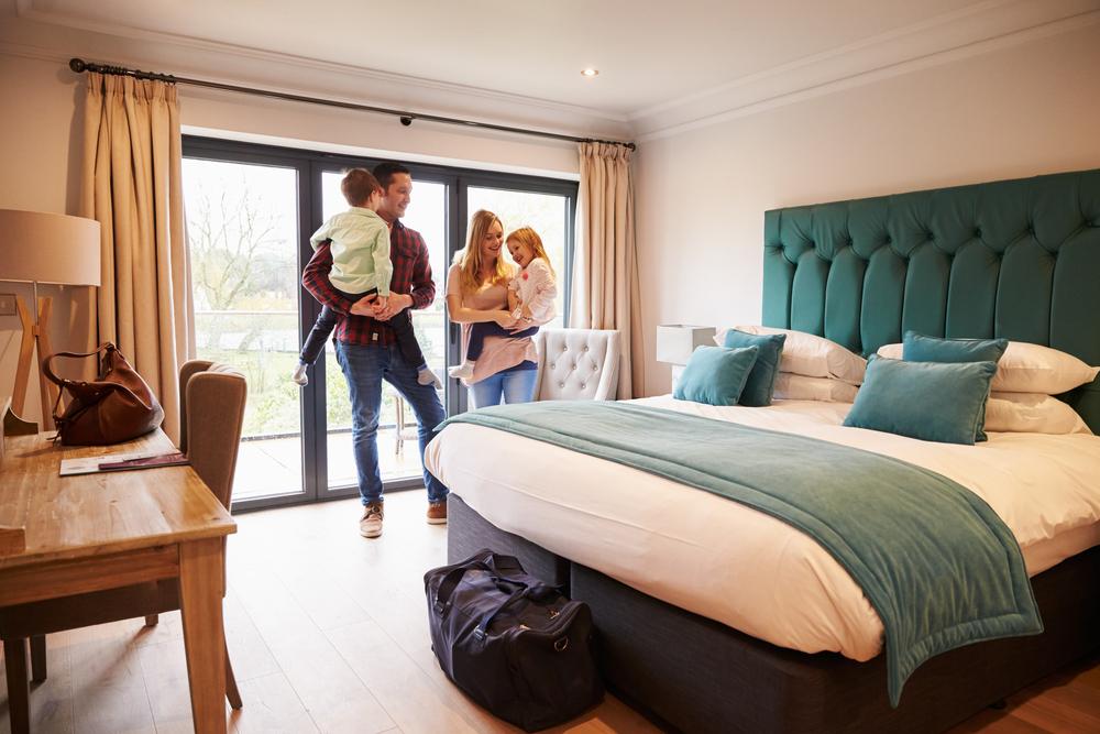 Family Holiday - Hotel Room