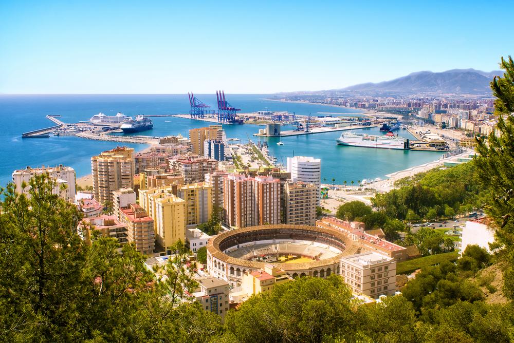 Málaga, Spain - Qatar Airways