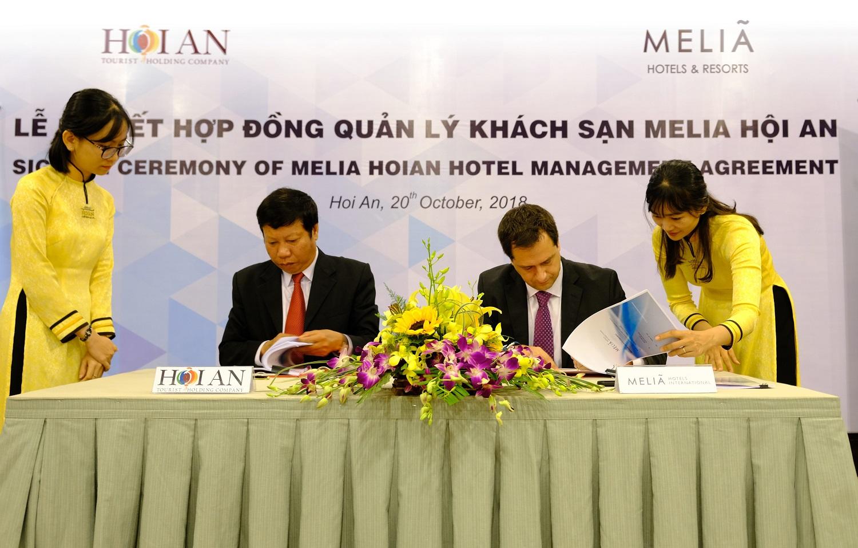 Signing of Meliá Hoi An