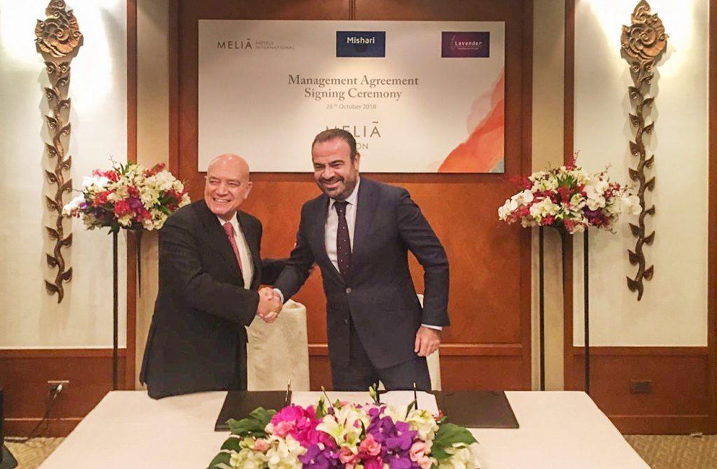Signing of Meliá Phuket Karon