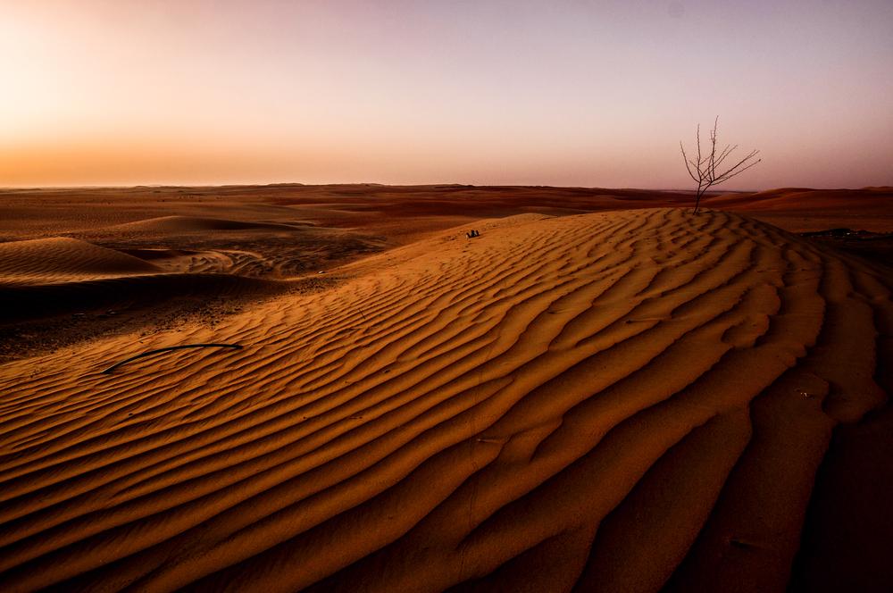 Singing Sand Dunes of Liwa