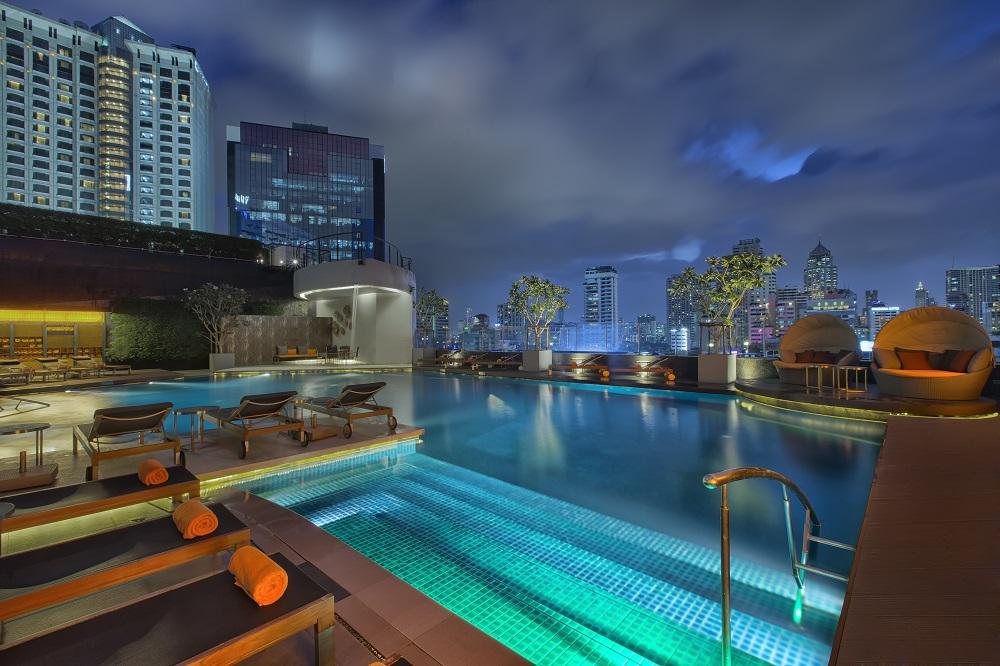 Outdoor Pool - Bangkok inspiring MICE venues