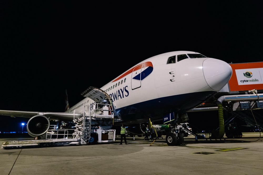 BA's Boeing 767