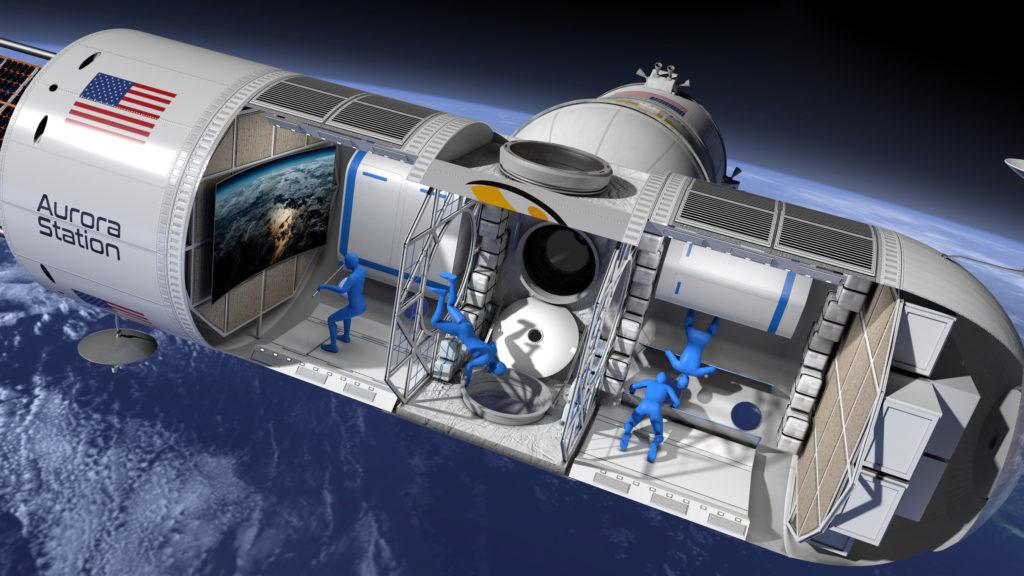 Orion Span - Aurora Station Interior