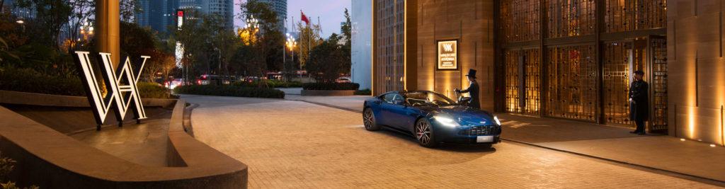 Waldorf Astoria x Aston Martin