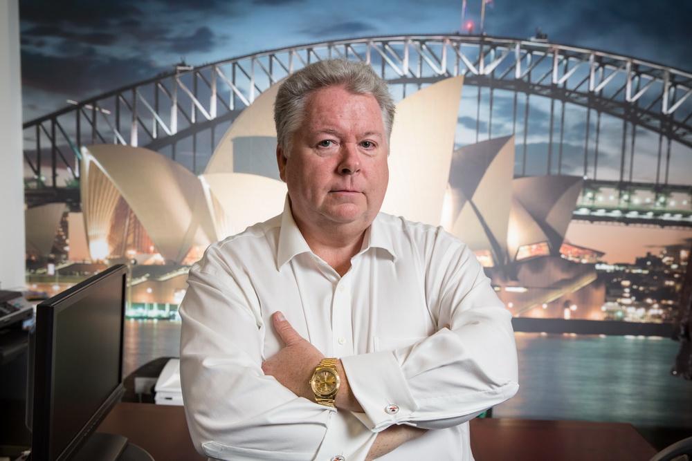 Kenny Picken. Founder of Traveltek