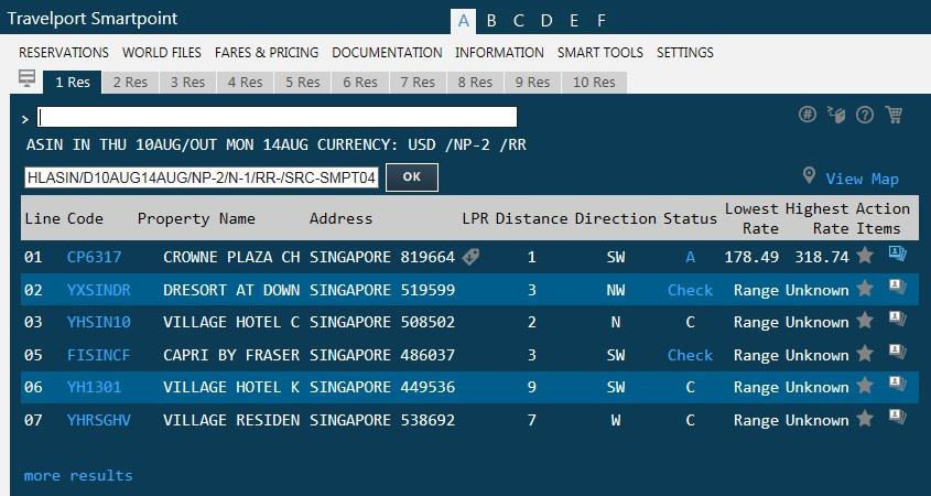Smartpoint user screenshot