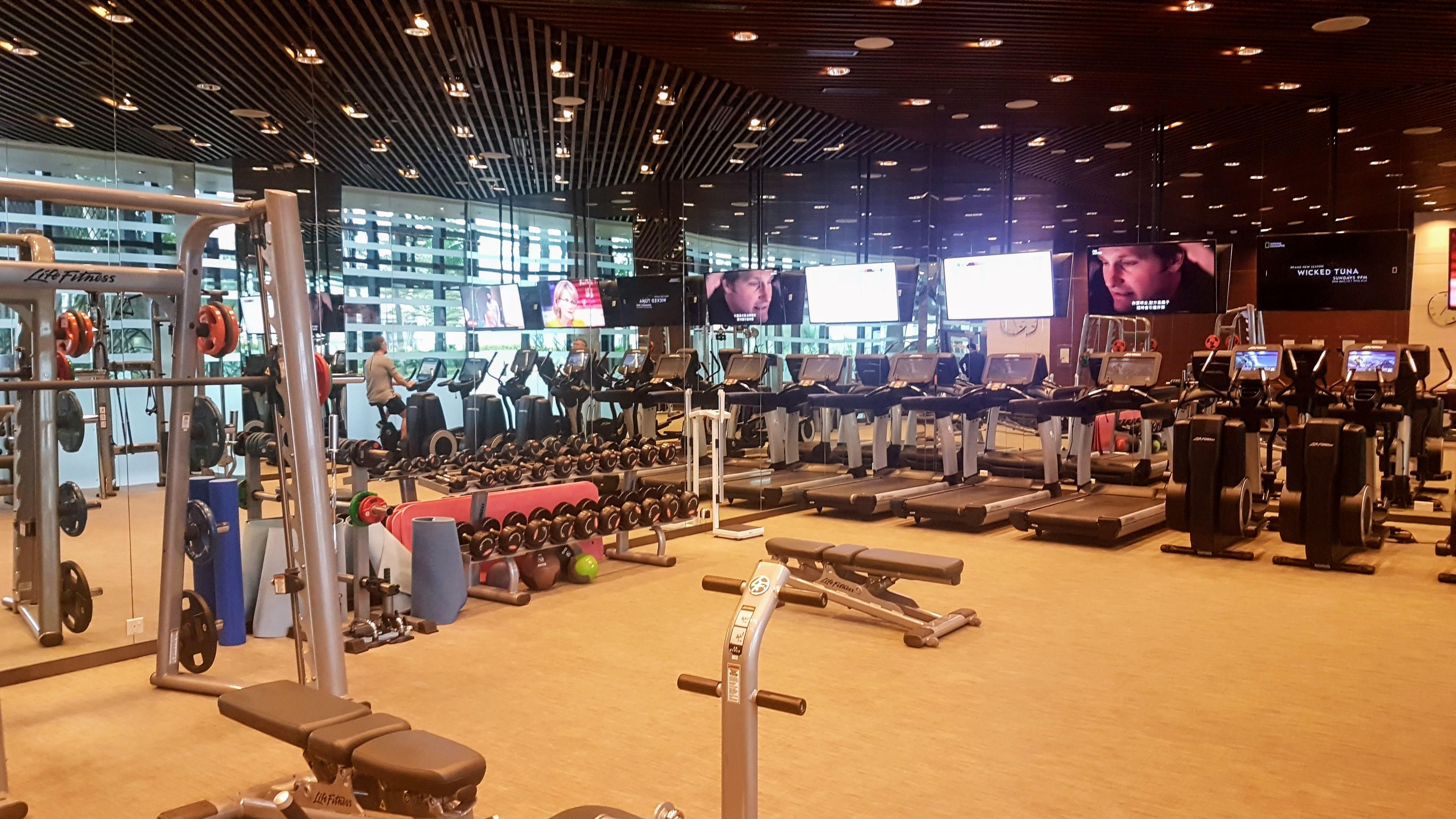 One Farrer Singapore gym