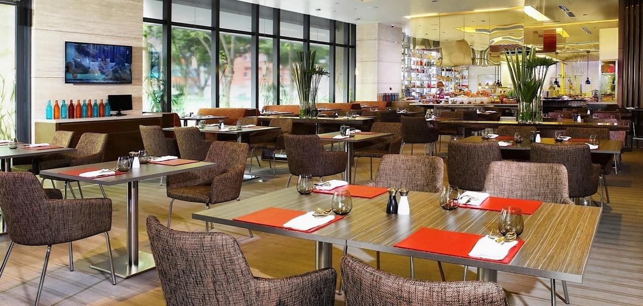 One Farrer Singapore ballroom restaurant