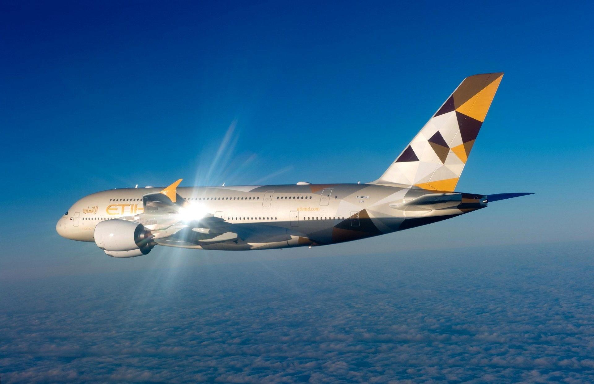 Airbus Etihad A380