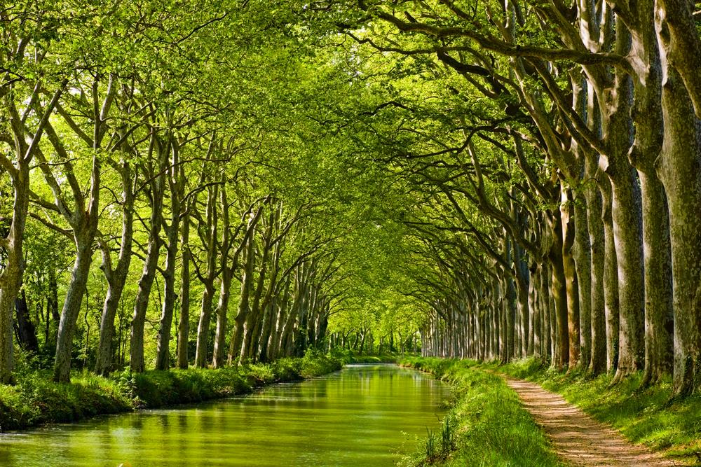 Canal du Midi in France