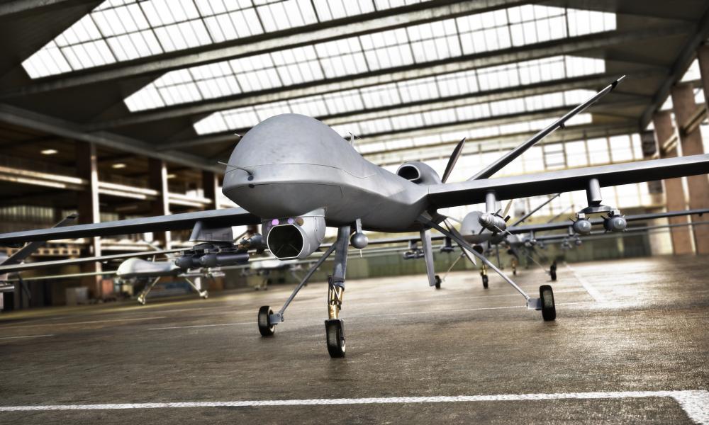 Military UAV - Autonomous Aircraft