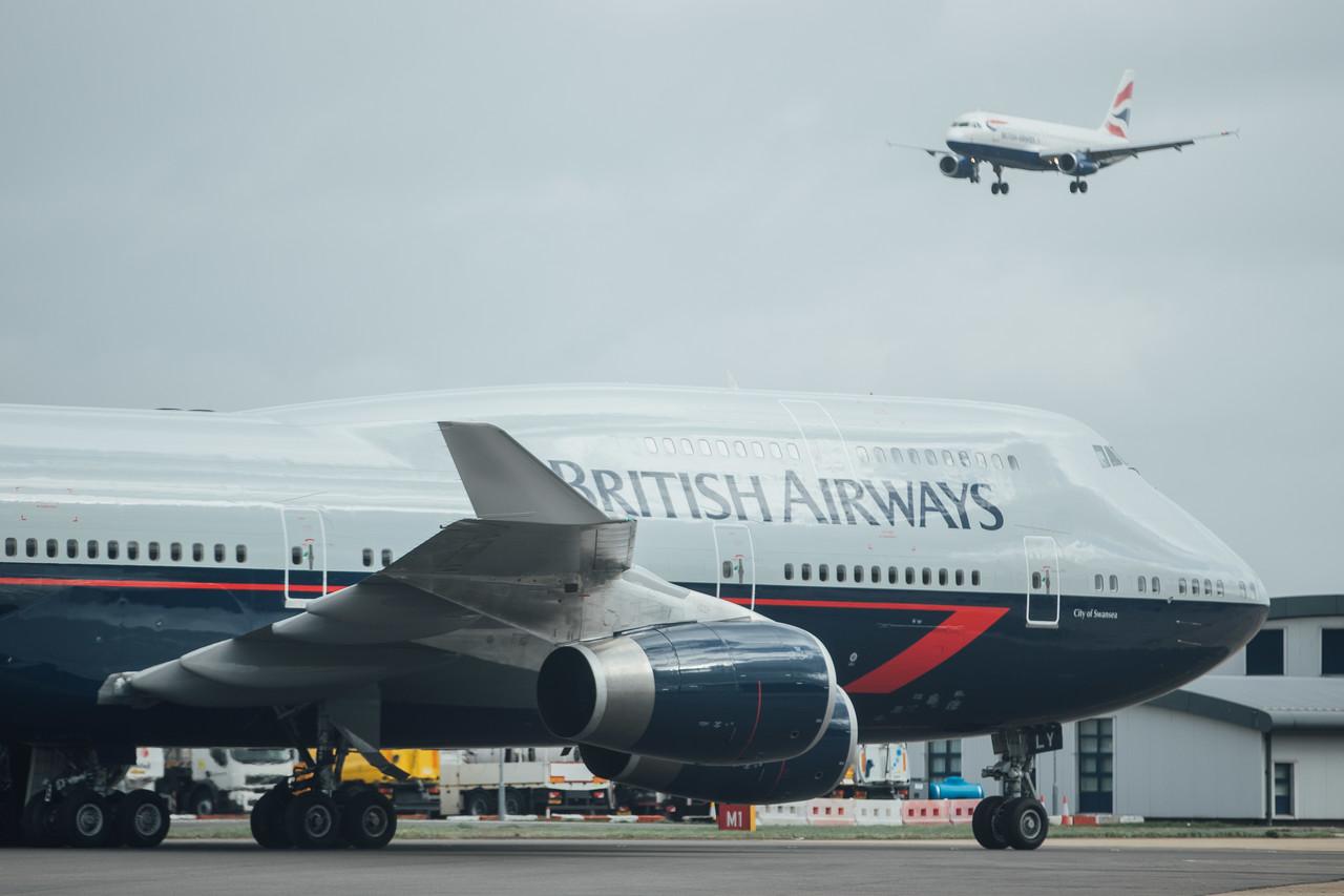 British Airways 747 G-BNLY