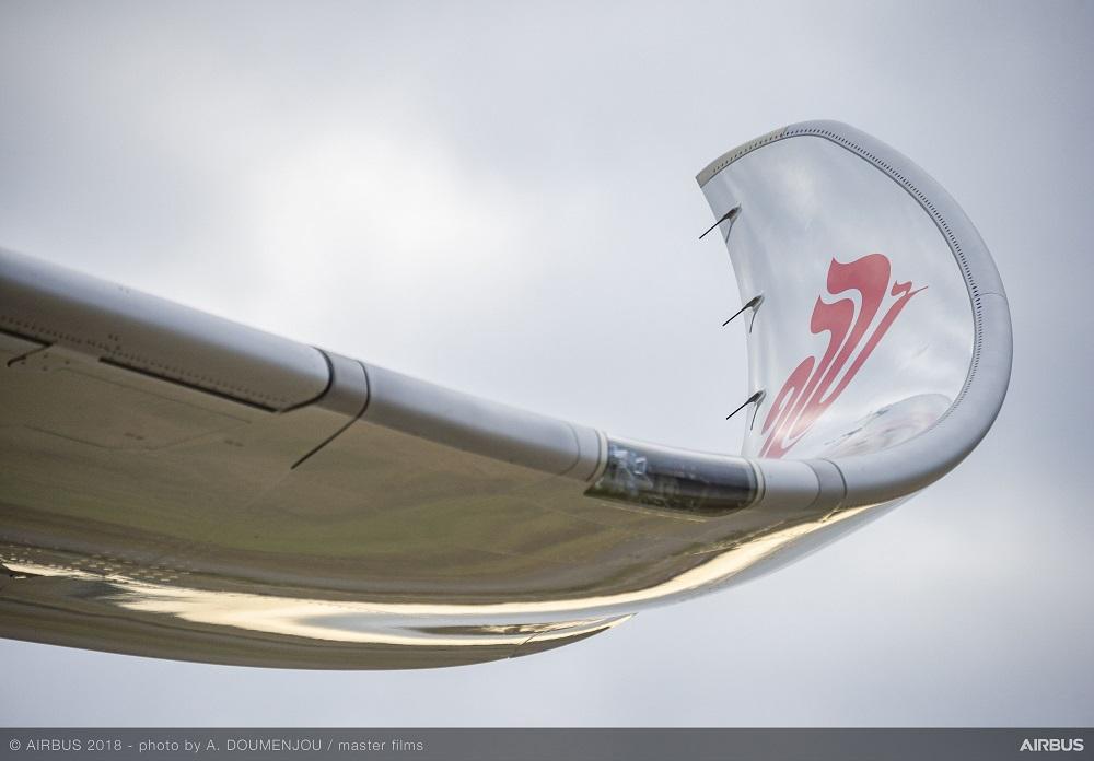 Air China A350-900 - Wing