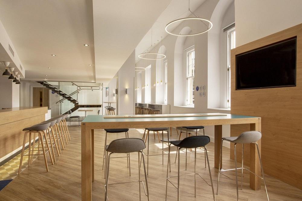 HIEX Edinburgh Bar Area