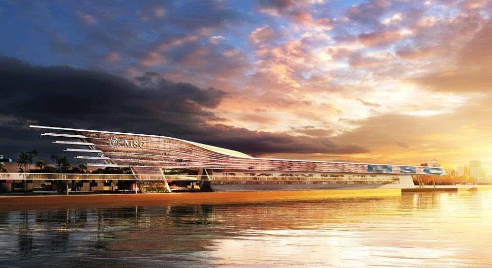 MSC Cruises' new cruise terminal at PortMiami
