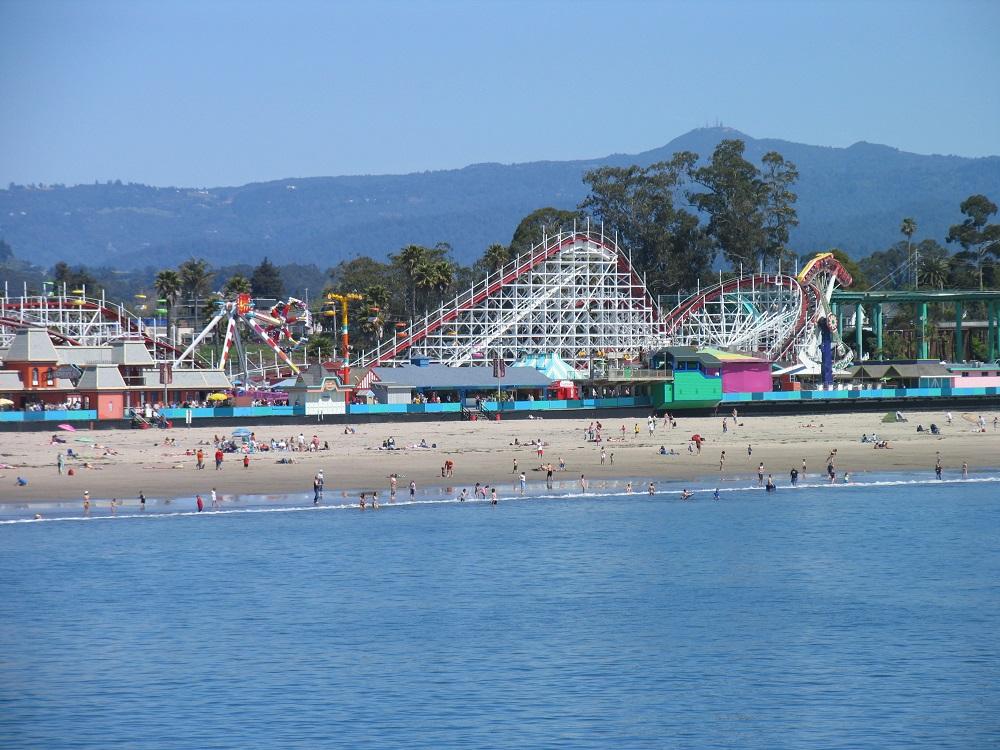Santa Cruz Beach Boardwalk - Photo Credit VSCC and Beach Boardwalk